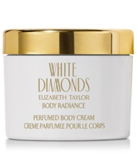 White Diamonds By Elizabeth Taylor Perfumed Body Cream 8.4 Oz.