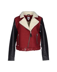 Supreme Being Coats And Jackets Jackets Women Maroon