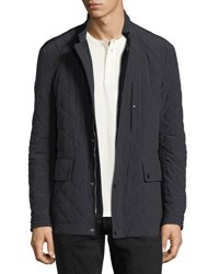 Tom Ford Diamond Quilted Field Jacket Navy
