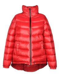 Annarita N. Down Jackets Red