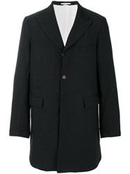 Comme Des Garcons Homme Plus Single Breasted Coat Black