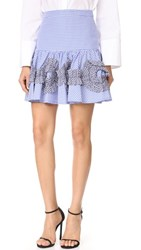 Alexis Daly Skirt Blue Gingham