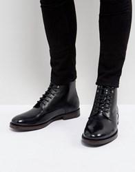 Ted Baker Dhavin Lace Up Boots Black