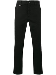 Sophnet. Damaged Chino Trousers Cotton S Black