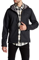Bench Soft Shell Hooded Zip Jacket Black