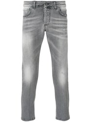 Entre Amis Cropped Skinny Jeans Grey