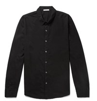 James Perse Cotton Shirt Black