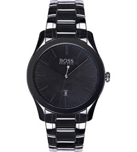 Hugo Boss 1513223 Gq Ceramic Watch Black