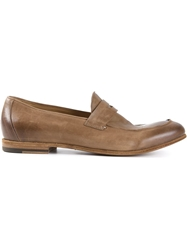 Pantanetti Classic Penny Loafers Nude And Neutrals