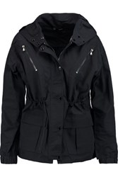 J Brand Carmel Shell Hooded Jacket Midnight Blue