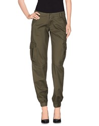 Miss Sixty Trousers Casual Trousers Women Military Green