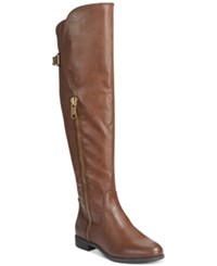 Rialto First Row Casual Over The Knee Wide Calf Boots Women's Shoes Mocha