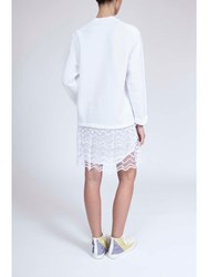 Alexis Mabille Jersey Dress White