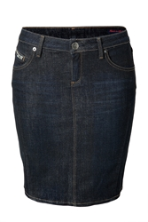 True Religion Jeans Skirt In Ghost Wash