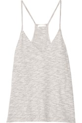 Skin Cotton Blend Mouline Camisole Gray
