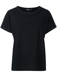 Y 3 Oversized Top Women Cotton Polyester Viscose L Black