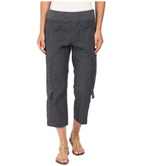 Xcvi Janan Crop Pants Charcoal Women's Casual Pants Gray