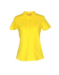 Sun 68 Polo Shirts Yellow