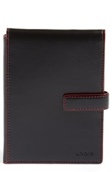 Lodis Rfid Leather Passport Wallet