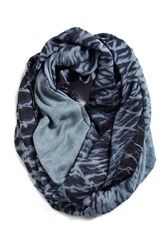 Women's Bcbgeneration 'One To Watch' Infinity Scarf Blue Navy Sea