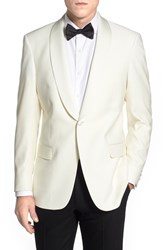 Men's Hart Schaffner Marx Classic Fit Wool Dinner Jacket