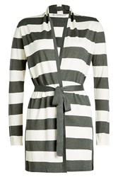 Max Mara Cardigan With Silk And Linen