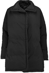 James Perse Padded Shell Coat Black