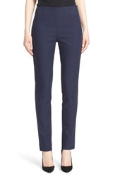 Women's Lela Rose 'Catherine' Stretch Twill Ankle Pants