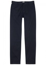 Citizens Of Humanity Davis Navy Tapered Cotton Chinos