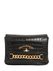 Vivienne Westwood Dorset Croc Embossed Faux Leather Bag