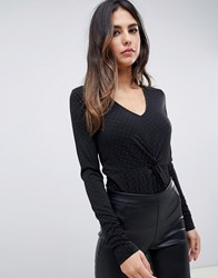 Y.A.S Spotted Knotted Body A12 1Col Black