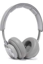 B And O Play H7 Wireless Leather Aluminium Headphones Gray