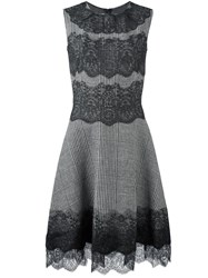 Ermanno Scervino Lace Insert Dress Black