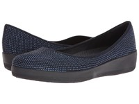 Fitflop Glitter Superballerina Super Navy Women's Shoes