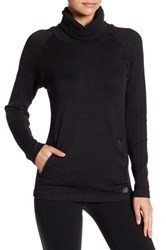 New Balance M4m Seamless Pullover Black