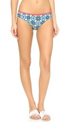 Minkpink Gypsianna Ruched Bikini Bottoms Multi