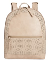 Styleandco. Style Co. Airyell Daisy Perforated Backpack Only At Macy's Beige