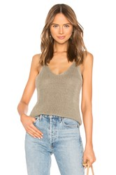 360Cashmere Cami Top Olive
