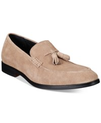 Alfani Men's Declan Suede Tassel Loafers Only At Macy's Men's Shoes Camel