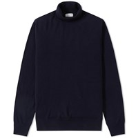 Dries Van Noten Mackay Roll Neck Blue