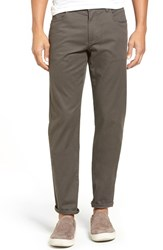 Vince Men's Soho Slim Fit Five Pocket Pants Grey