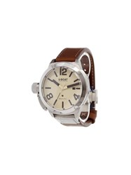 U Boat 'Classico' Analog Watch Stainless Steel