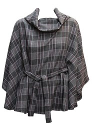 Feverfish Belted Cape Grey