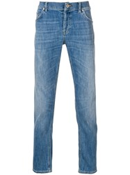 Dondup Straight Jeans Blue