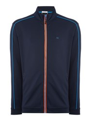 Calvin Klein Full Zip Tech Top Navy