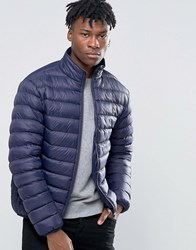 French Connection Light Weight Funnel Jacket Navy