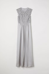 Handm Long Dress Gray