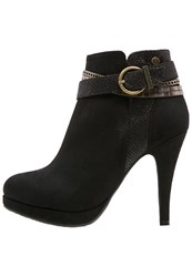 Refresh Ankle Boots Black