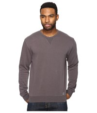 Brixton Hackney Crew Fleece Graphite Men's Fleece Gray