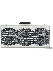Judith Leiber Couture Coffered Bag Crystal Black